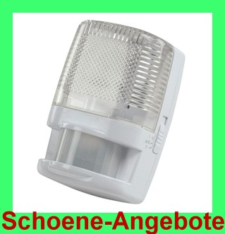 nachtlicht notlicht bewegungsmelder 180 grad sensor lampe f r die steckdose 220v ebay. Black Bedroom Furniture Sets. Home Design Ideas